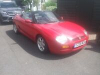 MGF Covertible Sports Car, Good Condition