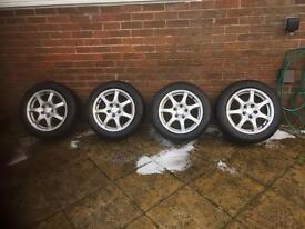 "BMW 1 series winter 16"" alloy wheels"