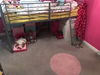 2 midsleeper beds for sale