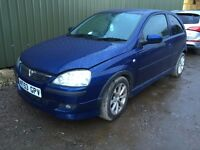 2003 Vauxhall Corsa 1.2 ***Spares or Repair***