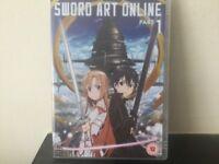 Sword art online part 1 DVD