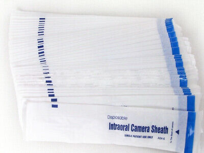 100pc Disposable Sheaths Intraoral Dental Camera Sleeve Sheath Cover Sheaths