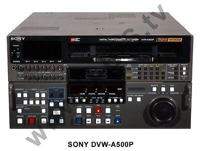 Sony DVW-A500P - Digital Betacam Recorder SDI
