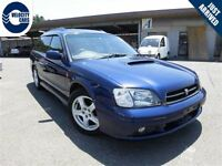 1998 Subaru Legacy Wagon GT Twin-Turbo 4WD 83K's NO ACCDNT 1 YR  Vancouver Greater Vancouver Area Preview
