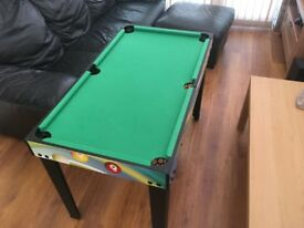 Pool Table, Table Football