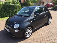 Fiat 500 1.2 Sport in Black New Cambelt and serviced, with FSH