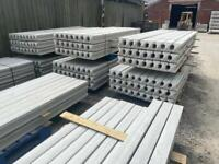 *New* Reinforced Concrete Fencing Post - 9Ft