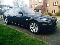 BMW 5 SERIES 3.0 525d M Sport Spec 4dr ++XENONS ++ BEIGE LEATHER SERVICE HISTORY PX WELCOME