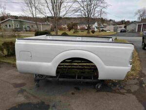 2013 Ford Superduty 8' Bed, Southern Bed, Rust after