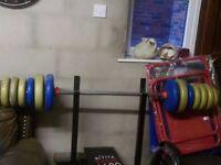 York weights press bench