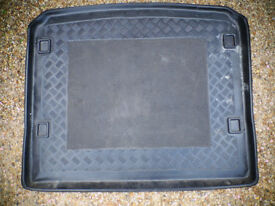 Car boot anti-slip liner/tray- 14cm x 93cm - fair to good condition