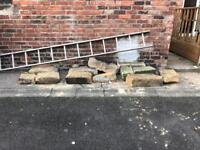Free large stones perfect for hardcore or garden