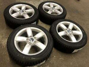 16 VOLKSWAGEN Wheels and Winter Tire Package 205/55R16 (JETTA, GOLF) Calgary Alberta Preview