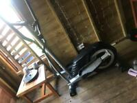 Cross trainer and gym equipment