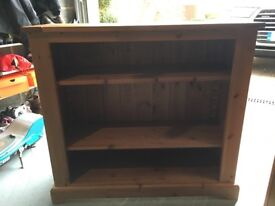 Oak book case . Good condition