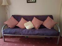 Futon Sofa Bed, Double size Metal Frame
