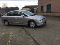 HYBRID ELECTRIC HONDA CIVIC- - AUTOMATIC TRANSMISSION- - ONE LADY OWNER FROM NEW- - ONE YEAR MOT - -