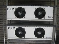 GEA Searle Industrial Evaporators (2) model KEC40-8L