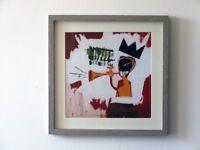 Jean-Michel Basquiat Trumpet print