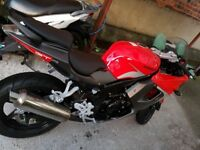 Hyosung GT125R for sale, Bedford