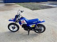 Yamaha 50cc child's motor bike