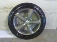 ALLOYS X 4 OF GENUINE 20 INCH AUDI Q7 5 SPOKE S/LINE FULLY POWDERCOATED INA STUNNING GRAPHITE NICE
