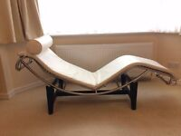 Le Corbusier Chaise - extremely confortable and stylish. A great addition to any home