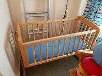 Swing Crib excellent condition