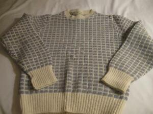 LADY`S  / YOUTH CREW-NECKED L.L.BEAN COZY WOOL SWEATER