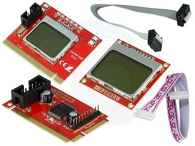 Motherboard PCI-E PCI LPC Diagnostic Analyzer Post Test Debug Card Kit