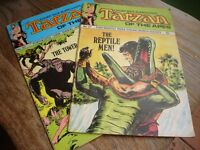 Tarzan of the Apes comics no 27 & no 30