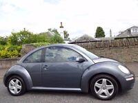 SPRING/SUMMER SALE (2006) VW Beetle Luna TDi - Scarce Diesel - Space Grey FREE DELIVERY/MOT/TAX/FUEL