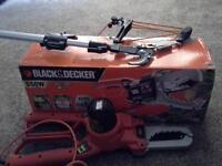 ELECTRIC CHAIN SAW AND TREE LOPPER