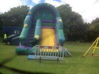 bouncy castle /inflatable slide