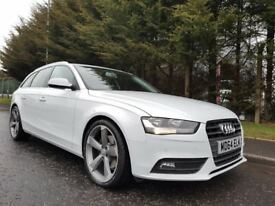 "2015AUDI A4 AVANT ULTRA SE TECHNIK 2.0TDI 163BHP 6SPEED GLACIER WHITE METALLIC NAV LEATHER 19""WHEELS"
