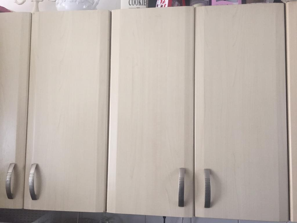 Bq It Kitchen Doors Bq Maple Effect Kitchen Doors For Sale Full Set In