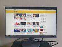 """AOC 24"""" Full HD Monitor, 60Hz, 4ms, IPS, Speakers, Frameless, Flic"""