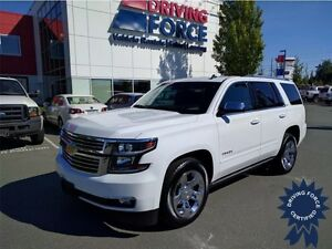 2015 Chevrolet Tahoe LTZ 4x4, Luggage Rack, A/C, 53,422 KMs
