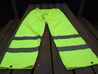mens medium high vis trousers unworn