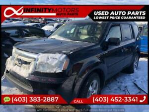2010 HONDA PILOT FOR PARTS PARTING OUT CARS CAR PARTS