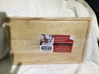 New sealed Wooden Chopping Board 40 x 25 Cm's ANTIBACTERIAL & ANTIMICROBIAL