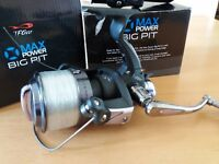 TFGear Max Power Big Pit Fishing Reels x2