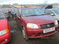 Suzuki Ignis 1.3 GL 2003 breaking for parts Wheel Nut.