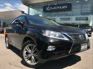 2013 Lexus RX 350 Ultra Premium AWD Navi Backup Cam Leather Sunr