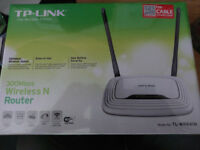 Tp-link 300Mbps Wireless N Cable (e.g. Virgin) Router - New and sealed £20