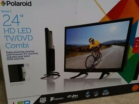 "Polaroid 24"" HD Led tv dvd combo freeview"