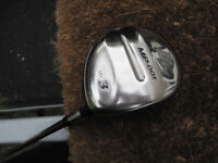 Mizuno MP-001 15 Degree Fairway 3 Wood / reg Shaft Mizuno Exsar 60g