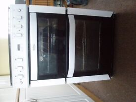 Belling 60cm Gas Cooker with Double Oven White
