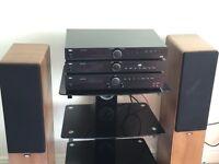 Tibo TI420 hifi stereo system and stand