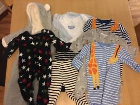 0-3 month baby bundle incl. Gap & JoJo Maman Bebe